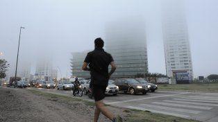 Hoy y mañana, banco de nieblas y alta temperatura.