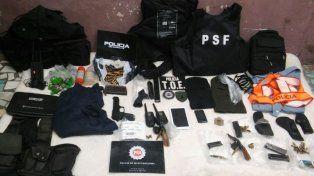 Cuatro detenidos por conformar una red ilegal de venta de armas