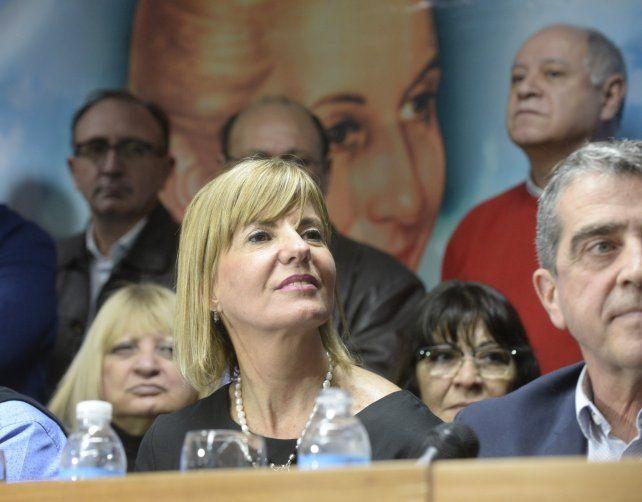Rodenas presentó oficialmente su precandidatura a diputada nacional en la sede de la UOM.