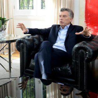 El Zurdo Samapoli fue recibido por Macri en la residencia de Olivos.