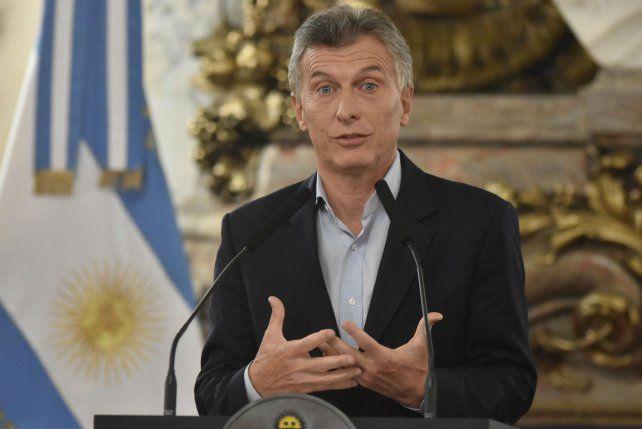 Macri atribuyó todas las dificultades económicas a la herencia del gobierno anterior.