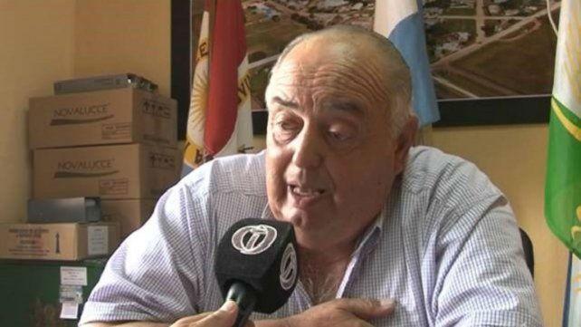 Orlando Pruzzo. El jefe comunal de Cañada del Ucle dio sus razones.