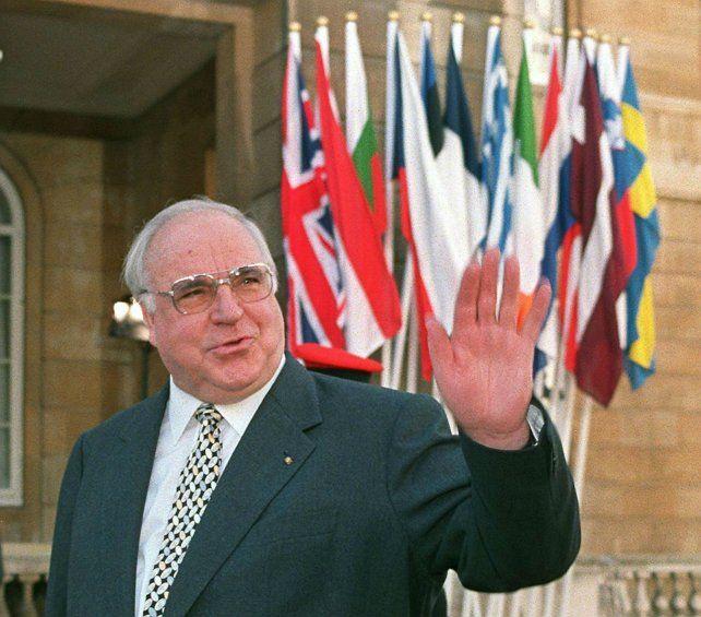 Reconciliador. El canciller Kohl cosechó tanto admiradores como detractores durante su dilatada carrera política.