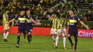 Festejo. Jonatan Silva celebra su gol