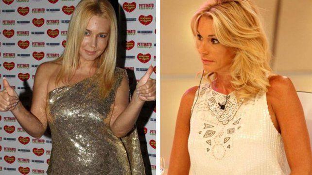 La esposa de Claudio Caniggia y la panelista tuvieron un cruce durísimo en el 2013.