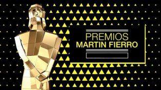 Los nominados. Los premios Martín Fierro 2017 se entregan esta noche.