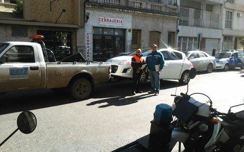 remisión. El vehículo fue conductor alcoholizado fue llevado a la comisaría.