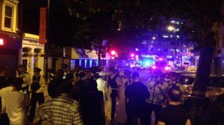 Un detenido. El incidente dejó varias víctimas, según la policía londinense.