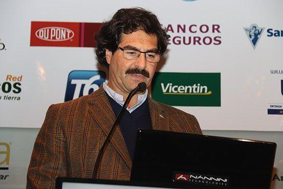 Leonardo Sarquís. Ministro de Asuntos Agrarios de la provincia de Buenos Aires.