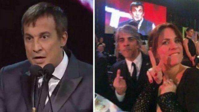 Qué dijo Paulo Vilouta sobre los gestos que le dedicaron Nancy Dupláa y Pablo Echarri