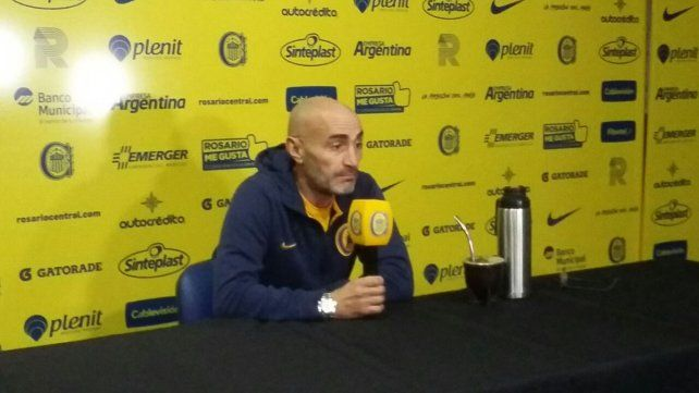 Montero piensa en la clasificación a la Copa Sudamericana.