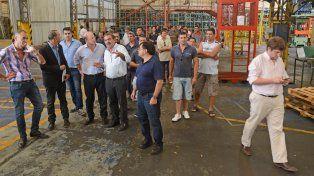 Las autoridades recorrieron hace unos días la fábrica. En los primeros días de julio abriría sus puertas. (Foto de archivo)