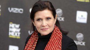 ícono. La princesa Leia de Star Wars falleció en diciembre pasado.