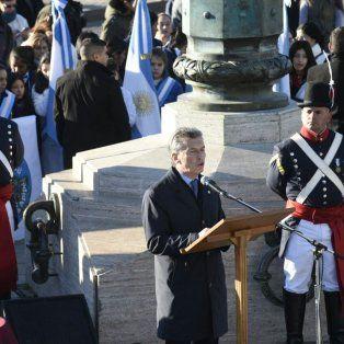 macri: belgrano es una fuente de inspiracion para este momento de cambio en argentina