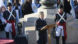 Macri: Belgrano es una fuente de inspiración para este momento de cambio en Argentina