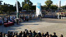 mira el video del acto oficial por el dia de la bandera en rosario
