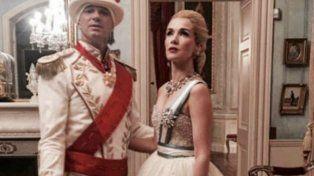 Natalia Oreiro le cumplió el sueño a un magnate ruso y fue Evita por un día