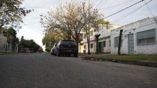 la calle. Balcarce al 3900, el lugar donde mataron a Martín Reyna.
