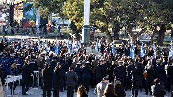 El de Mauricio Macri fue el discurso presidencial más escueto en la historia de las celebraciones por el Día de la Bandera.