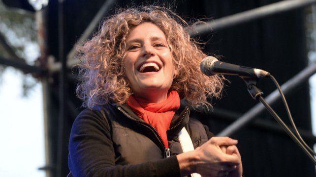La cantante uruguaya Ana Prada.