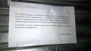 Pepsico cerró su planta en Vicente López y la medida afecta a 600 trabajadores
