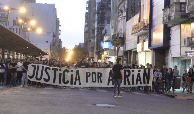 Una de las marchas que se realizaron por pedido de justicia.