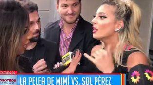 Escándalo total, discusión y pelea a los gritos  en plena calle entre Sol Pérez y Mimí