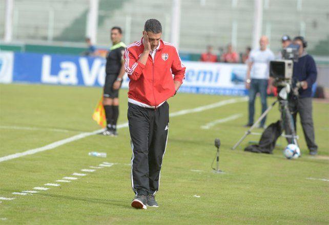 Complicado. Las aspiraciones de Newells de ingresar a la Libertadores quedaron en jaque.