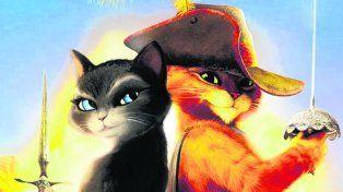 a jugar. El Gato con Botas es el mismo de la película en 3 D de 2011.