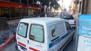 fugas. Las acciones de la concesionaria del servicio en Rosario obedecen en su mayoría a pérdidas del fluido.