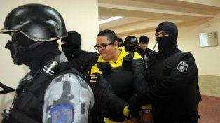 audiencia. Cantero, uno de los líderes de Los Monos, será enjuiciado en Tribunales.
