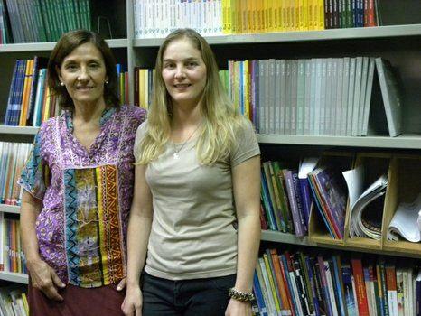 Olga Peralta y Daniela Jauck