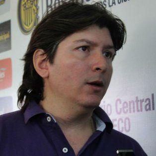 Luciano Cefaratti, vicepresidente 1º de Rosario Central.