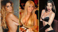 Virginia Gallardo, Graciela Alfano y Natalia Oreiro, tres de las damnificadas.