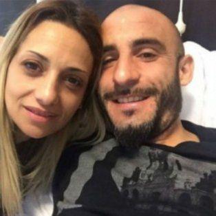 Mariela, la esposa del exfutbolista de Central Javier Pinola, se despidió de sus vecinos.