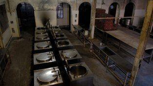 Hace más de 20 años que las instalaciones de la Cocina Centralizada están abandonadas