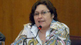En campaña. Graciela Ocaña, elegida para dar pelea en territorio de Vidal.
