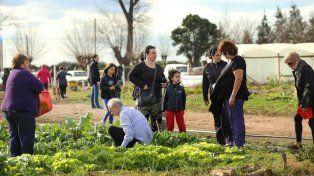 Sano. El público pudo acceder a productos orgánicos en la Eco Granja.