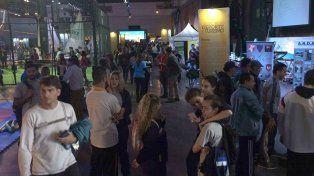 Unas 12 mil personas visitaron ayer el Congreso de Deporte y Turismo en el Metropolitano.