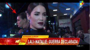 Lali Espósito y Natalie Pérez se encontraron en un evento luego de su pelea en Esperanza Mía