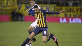 Mauricio Martínez jugó ante Talleres y hoy está confirmado en los titulares ante San Juan.