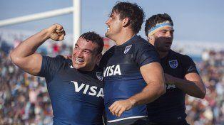 Puño apretado. Los Pumas consiguieron su primer triunfo del año, en Jujuy y frente a Georgia.