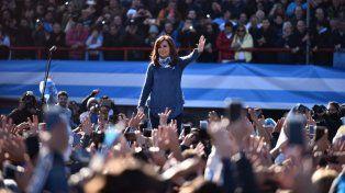 Confirmada. La expresidenta será candidata a senadora por la provincia de Buenos Aires.