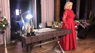En vivo. Mirtha Legrand presentó su primer programa desde Rosario.