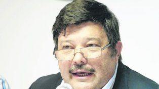 Reclamo. Cardo Chiesa estuvo en el Congreso Ganadero Rosario 2017.