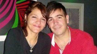 matrimonio. Claudia Moya y Alfredo Turcumán estaban casados.