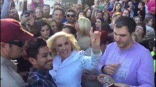 Así fue el encuentro de Mirtha Legrand con su público en su paso por Rosario