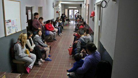 saturación. La guardia del Hospital San Martín