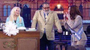 Susana volvió a la tele con Lanata que adelantó a quien va a votar en las elecciones
