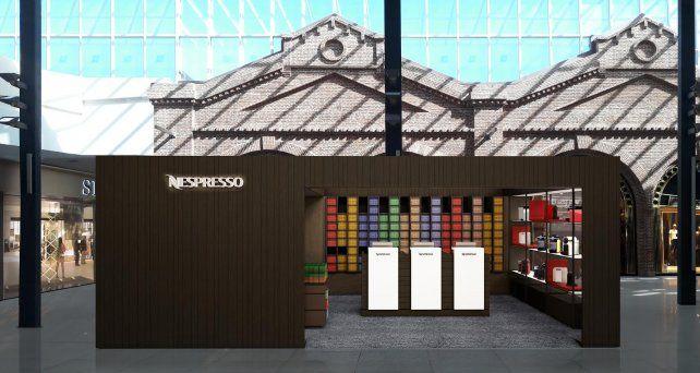 Nespresso abrió su primer local exclusivo en el Alto Rosario Shopping